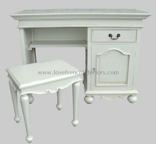 Rochelle Star Dressing Table and Stool in your choice of colour